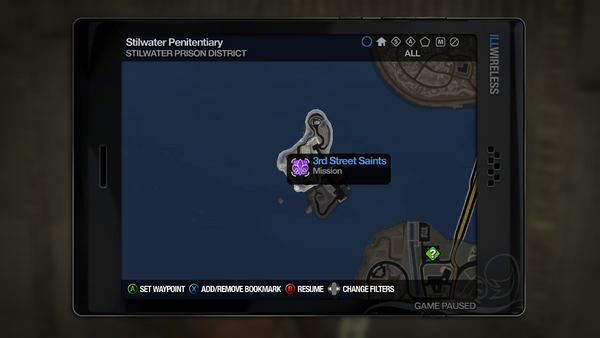 Jailbreak mission marker on the Map