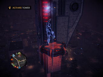 Saints Row IV Tower Diversion - Activate Tower