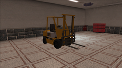 Saints Row variants - Forklift - standard - front right