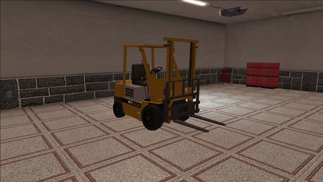 File:Saints Row variants - Forklift - standard - front right.png