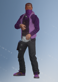Saints Sniper - Taylor - character model in Saints Row IV