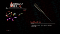 Weapon - Melee - Baseball Bat - Main