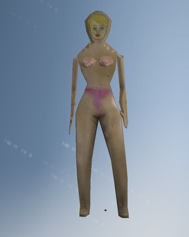 Blowupdoll character model in Saints Row IV