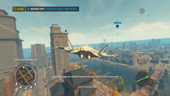 Convoy Decoy - Intercept Surveillance Aircraft objective