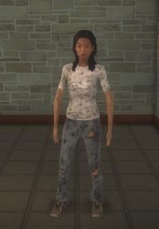 Junky - hispanic female - character model in Saints Row 2