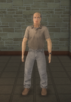 Middle-aged male gen - asian - character model in Saints Row 2