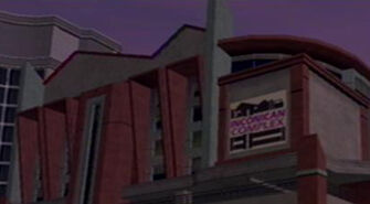 Penthouse Loft in Saints Row with Inconican Complex sign