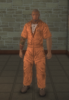 Prisonfight - white Prisonfight male B - character model in Saints Row 2