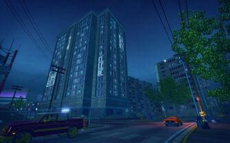 Sunnyvale Gardens in Saints Row 2 - apartments