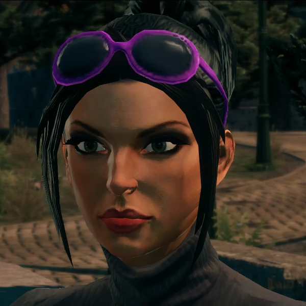Viola DeWynter - saints model - Purple glasses - modded cutscene