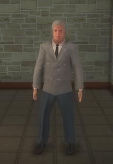 Doorman - white - character model in Saints Row 2