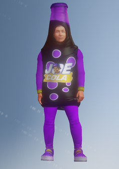 Gang Customization - Mascot 4 - Joe Cola - in Saints Row IV