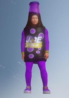 Gang Customization - Mascot 4 - Joe Cola - in Saints Row IV