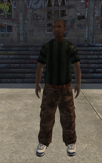 Generic young male 01 - black - character model in Saints Row