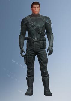 Playa - Saints team 6 male - character model in Saints Row IV