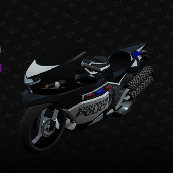 Police Kenshin - front left in Saints Row The Third