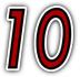 Saints Row 2 clothing logo - No10 number