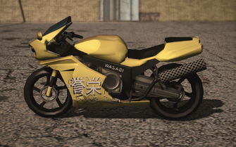 Saints Row IV variants - Kenshin Ronin with decals - left