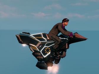 Saints Row The Third DLC vehicle - Ultor Interceptor - hover - right