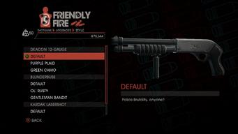 Weapon - Shotguns - Pump-Action Shotgun - Deacon 12-Gauge - Default