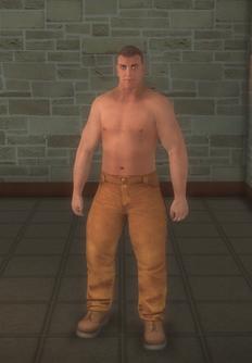 Bouncer - white roid freak - character model in Saints Row 2