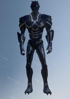 Cyber decker - character model in Saints Row IV