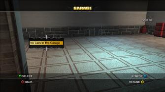 Empty Garage in Saints Row