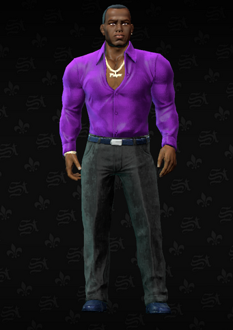 Gang Customization - Clubber 4 - Terrance - in Saints Row The Third
