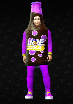 Gang Customization - Mascot 4 - Joe Cola - in Saints Row The Third