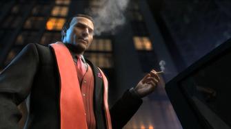Phillipe Loren in the Saints Row The Third Power CG trailer