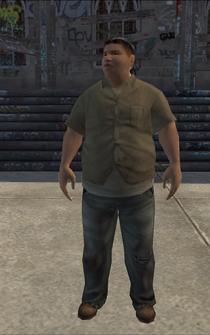 PoorHeavy male - hispanic - character model in Saints Row