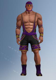 Wrestler 1 - pedro - character model in Saints Row IV