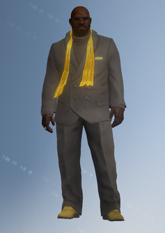 Ben King - white house - character model in Saints Row IV