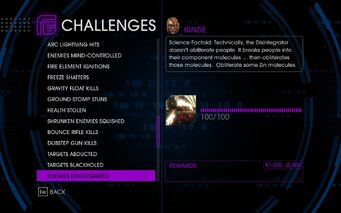 Challenge 49 Enemies Disintegrated