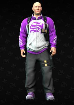 CheapyD front - character model in Saints Row The Third