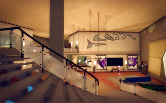 Hotel Penthouse - Ultra Modern - stairs