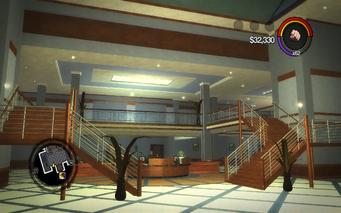 Marshall Winslow Recreation Center - lobby stairs