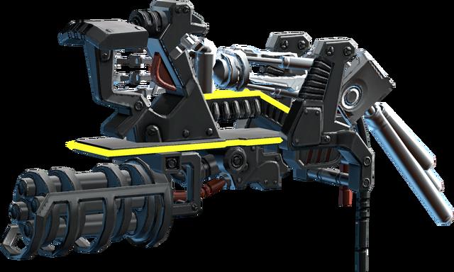 File:SRIV Special - Lasergun Arm - Minigun Arm - Default.png