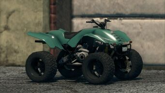 Toad - front right in Saints Row The Third
