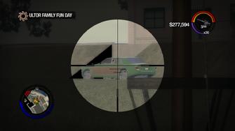 Ultor Family Fun Day - Eric's Justice through sniper rifle