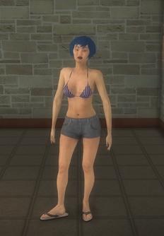 Beach female - asian - character model in Saints Row 2