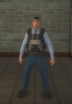 FBI - Hispanic - character model in Saints Row 2