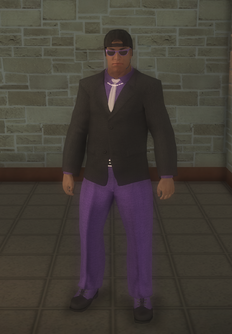 Gang Customization - Bodyguards - male lieutenant 2 - hispanic2 variant