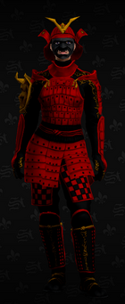 SRTT Outfit - samurai (female)
