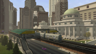 Saints Row demo loading screen - Train Station