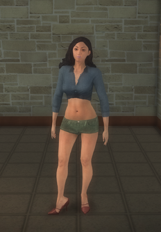 Stripper female b - asian generic - character model in Saints Row 2