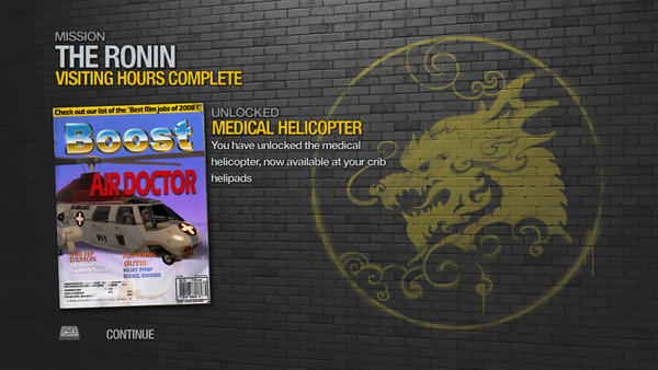 Visiting Hours - Medical Helicopter unlocked