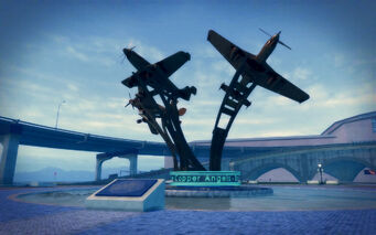 Wardill Airport in Saints Row 2 - Stilwater Copper Angels