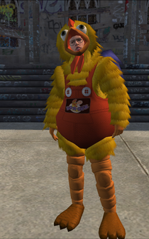 Chicken Ned - character model in Saints Row