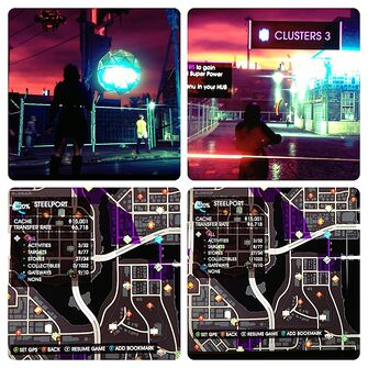 Cluster value as Collectible in Saints Row IV